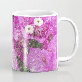 Pink flowers marble Coffee Mug