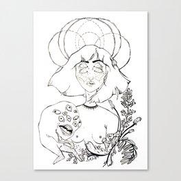 Reach for the Dead Canvas Print