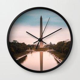 Washington DC View 3 Wall Clock