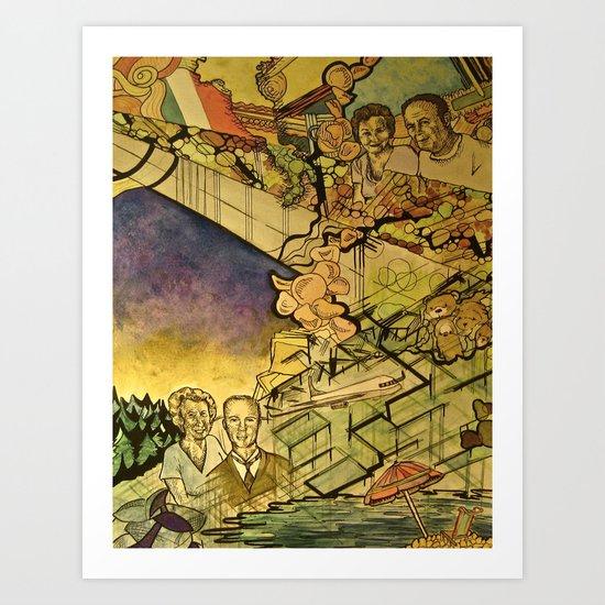 Mezzetta and Rockwell Art Print