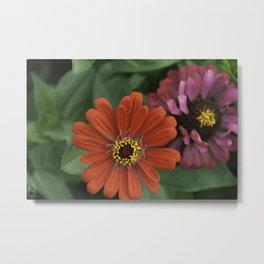 Save Island Flowers Metal Print
