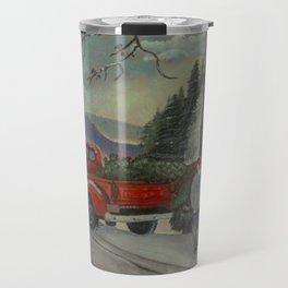 Christmas Tree pickup Travel Mug