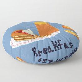 Breakfast - Pancakes Floor Pillow