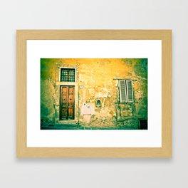 Old World Italy (Tuscany) Framed Art Print
