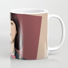 BTS SUGA FEMALE FANART Coffee Mug