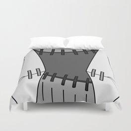 Franken Stein Lab Coat Duvet Cover