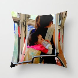 One Two Many Throw Pillow