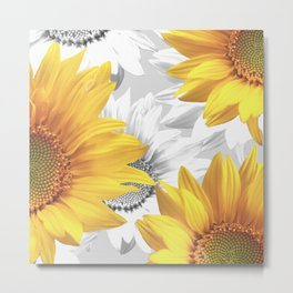 Sunflower Bouquet #decor #society6 #buyart Metal Print