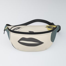 Abstract Face I Fanny Pack
