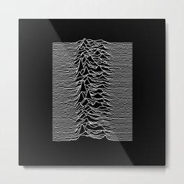 Joy Division - Unknown Pleasures Metal Print