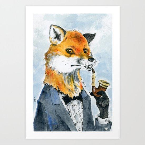 Guy Fox Art Print