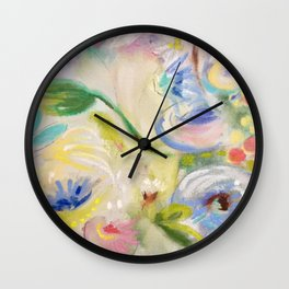 Earthly Delight Wall Clock