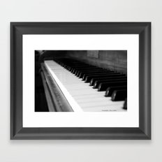 Antique Piano Framed Art Print
