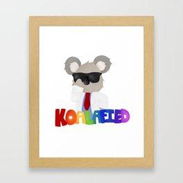 Koalafied Framed Art Print