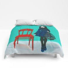 A Blue Bird Comforters