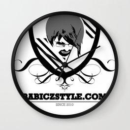 Babiczstyle Logo Wall Clock