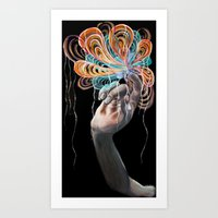 Vertex 16 Art Print