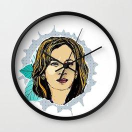 Kalama Harris Wall Clock