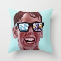 high Throw Pillows featuring This Magic Moment by Jared Yamahata