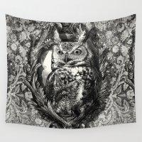 eric fan Wall Tapestries featuring Nightwatch - by Eric Fan and Garima Dhawan  by Eric Fan