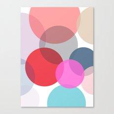 Pop Dots Canvas Print