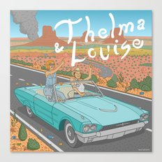Thelma And Louise Canvas Print