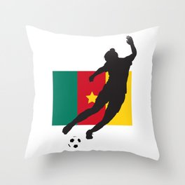 Cameroon - WWC Throw Pillow