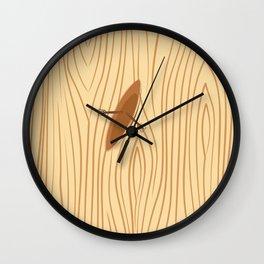 WOOD SEA Wall Clock