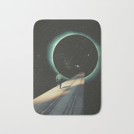 Escaping into the Void Bath Mat