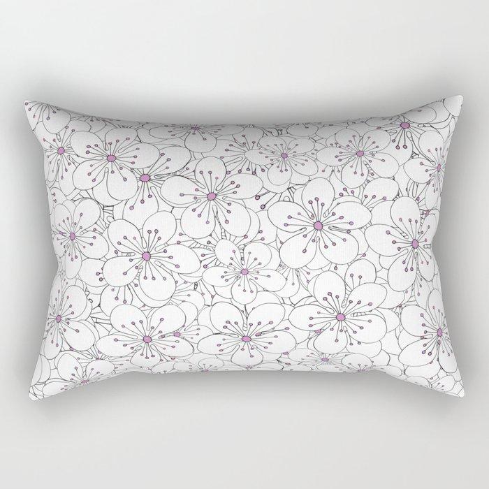 Cherry Blossom Pink - In Memory of Mackenzie Rectangular Pillow