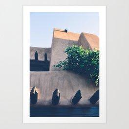 Santa Fe, New Mexico Art Print
