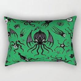 Cosmic Horror Critters Rectangular Pillow