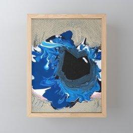EXPLOSIVE TEARS Framed Mini Art Print
