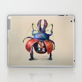 Beetle stunt Laptop & iPad Skin
