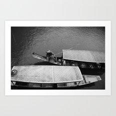 two boats Art Print