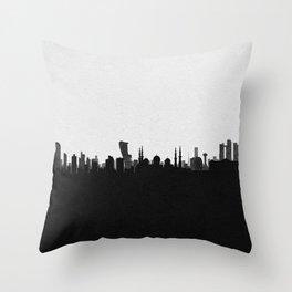 City Skylines: Abu Dhabi Throw Pillow