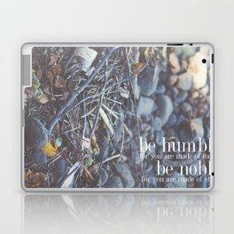 noble + humble. Laptop & iPad Skin