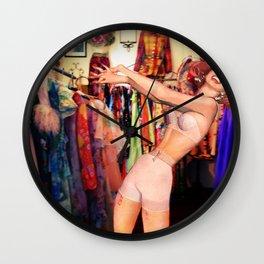 Gleeful Narcissism Wall Clock