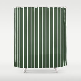 The Olivia's skirt Shower Curtain