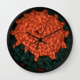 Love sun crochet Wall Clock
