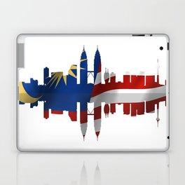 Kuala Lumpur City silhouette.  Laptop & iPad Skin