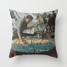 New World Throw Pillow