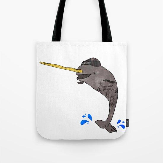 Gnar-Whal Tote Bag