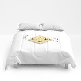 Fish Scrabble Comforters