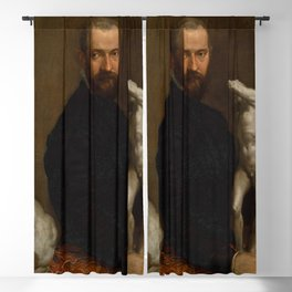 "Veronese (Paolo Caliari) ""Alessandro Vittoria"" Blackout Curtain"