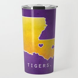 Louisiana State Tigers Travel Mug