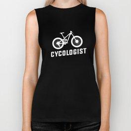 Cycologist Funny MTB Mountain Bike Rider Cyclist Biker Tank