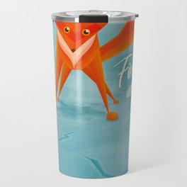 Fire and ice Travel Mug