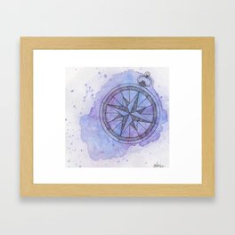 Find Me in the universe Framed Art Print
