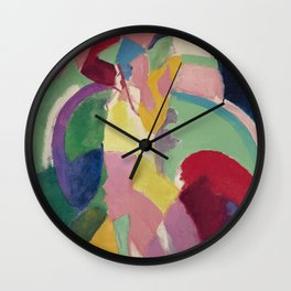 La Parisienne - Robert Delaunay - Art Poster Wall Clock